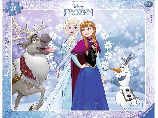 Jégvarázs Anna és Elsa 38 darabos puzzle