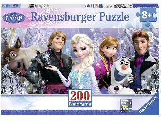 Jégvarázs barátok 200 darabos XXL panoráma puzzle