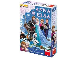 Jégvarázs társasjáték - Anna és Elsa