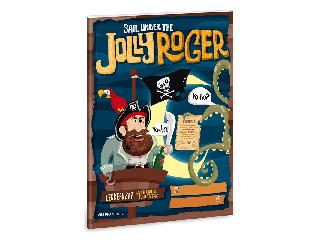 Jolly Roger A/5 leckefüzet