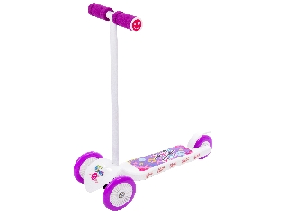 Junior Twist háromkerekű roller - fehér