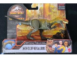 Jurassic World:Monolophosaurus támadó dínók