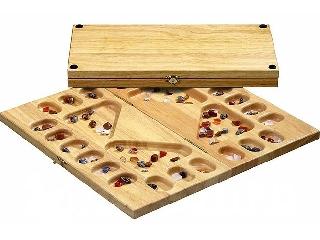 Kalaha 4 játékos részére, féldrágakövekkel