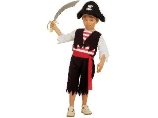 Kalóz fiú jelmez - 110 cm-es
