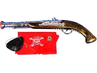Kalóz pisztoly kiegészítőkkel