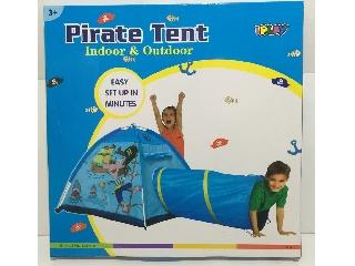 Kalózos gyermek játszósátor alagúttal