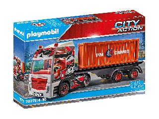 Kamion pótkocsival