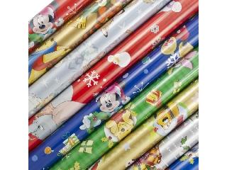 Csomagoló papír Disney 200x70cm karácsonyi