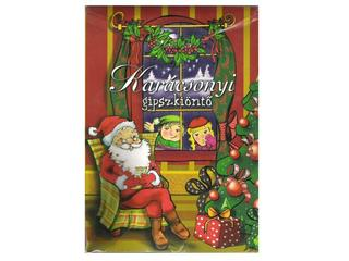 Karácsonyi gipszkiöntő