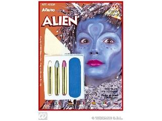 Karakter farsangi arcfesték szett - Földönkívüli