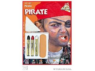 Karakter farsangi arcfesték szett - Kalóz