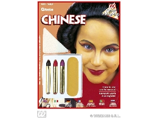 Karakter farsangi arcfesték szett - Kínai