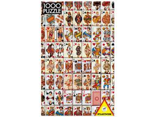 Kártyák – 1000 darabos kirakó