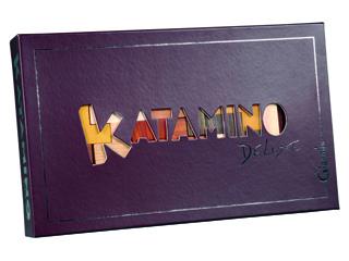 Katamino Deluxe logikai fa társasjáték