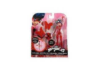 Katicabogár játékfigura 19 cm - Katicabogár pillangós 96 cm-es kötélpályával
