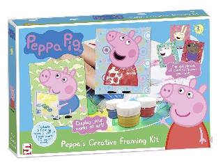 Képfestő játék - Peppa malac