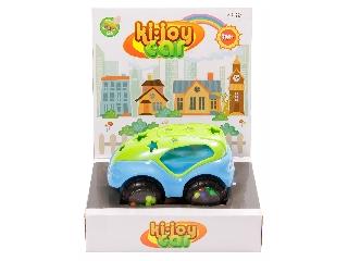 Készségfejlesztő bébi autó - kék-zöld