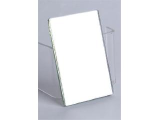 Kétoldalas iskolai tükör tokban, 7,5x10,5 cm