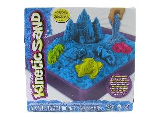 Kinetikus homok - Kék közepes kastély szett