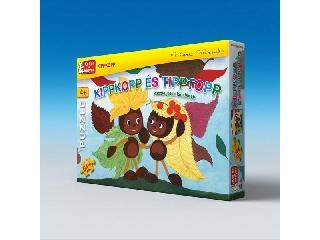 Kippkopp és Tipptopp puzzle 64 db-os