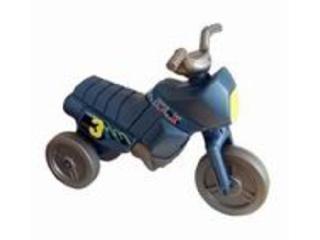 Kis enduro motor szürkés-kék