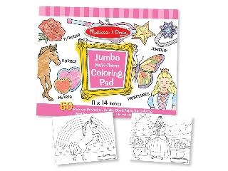 Kiszínezhető képek 50 db-os, pink 2253
