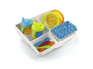 Komplett baba etetőkészlet tárolóval - Babaetetés