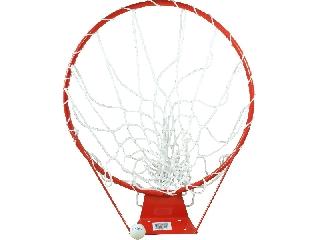 7-es kosárlabdagyűrű hálóval