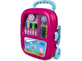 Kreatív készlet húzható bőröndben - Peppa Malac