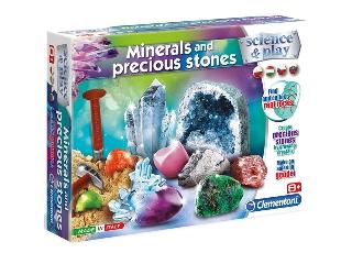 Tudomány és játék kristály készlet