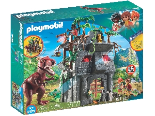 Playmobil - Kutató tábor T-Rex dínóval