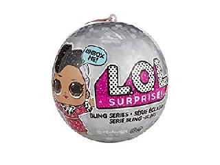 L.O.L Surprise ezüst baba