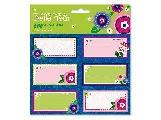 La belle fleur csomagolt füzetcímke (3x6 db)