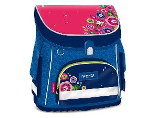 La Belle Fleur kompakt easy mágneszáras iskolatáska + ajándék Activity Family társasjáték