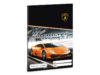 Lamborghini 1. oszt. vonalas A/5 füzet 1432