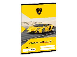 Lamborghini 3. oszt. vonalas A/5 füzet 1232