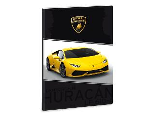 Lamborghini A/4-es vonalas füzet