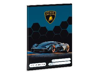 Lamborghini A/5 kockás füzet 2732