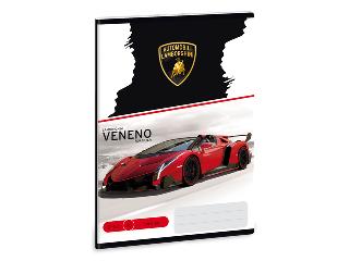 Lamborghini A/5-ös vonalas füzet