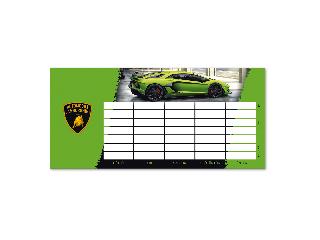 Lamborghini egylapos órarend