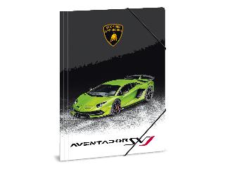 Lamborghini gumis dosszié A/4