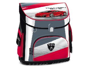 Lamborghini kompakt easy mágneszáras iskolatáska + ajándék Activity Family társasjáték