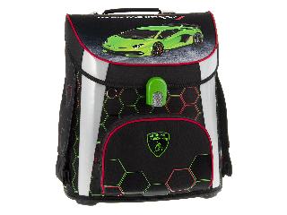 Lamborghini mágneszáras iskolatáska szett