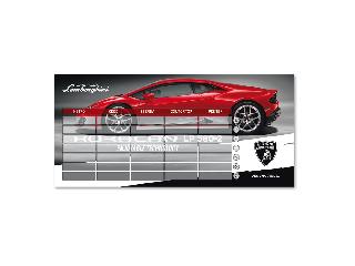 Lamborghini órarend kétoldalas