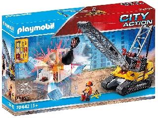 Playmobil: Lánctalpas markoló 70442