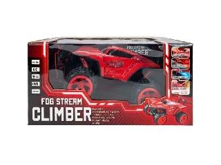 Ledes Climber járgány kipufogófüsttel Piros