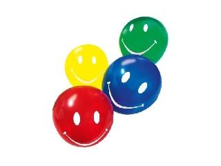 Léggömb / 10 db Smile többszínű