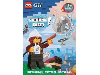 Lego City - Oltsunk tüzet - Freya McCloud tűzoltóparancsnok minifiguráva