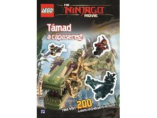 LEGO  Ninjago   Movie - Támad a cápasereg! - Több mint 200 újrafelhasználható matrica