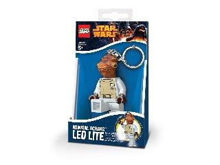Lego Star Wars Ackbar világító kulcstartó